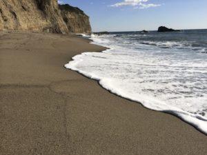 frothy ocean shore increasing confidence